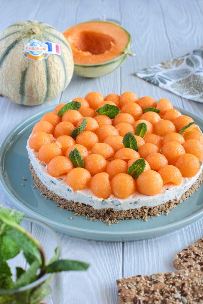 cheesecake melon